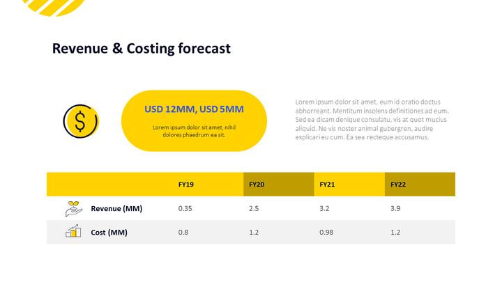 Revenue & Costing forecast Presentation Slides_01