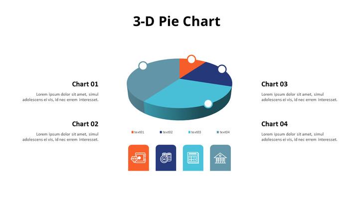 목록이있는 3D 파이 차트_02
