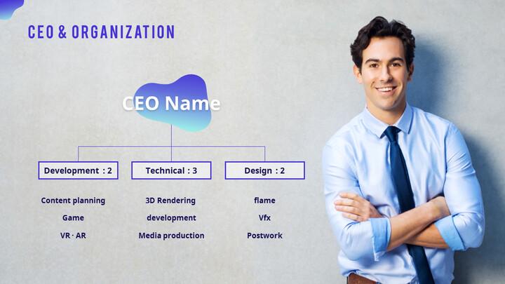 CEO & Organization PPT Slide_01