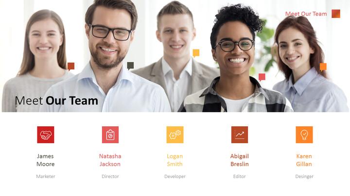 Meet Our Team PowerPoint Design_02