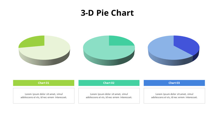 Three 3D Pie Charts_01