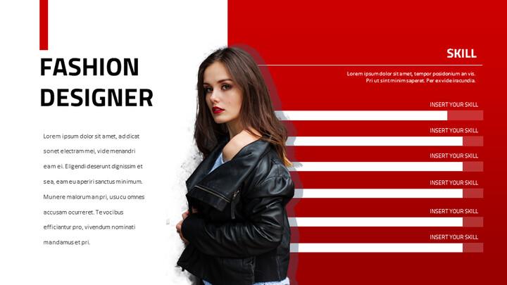 Fashion Portfolio Google Slides Themes for Presentations_02