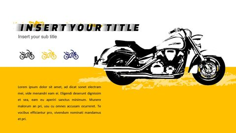 Motorcycle Google Slides Templates for Your Next Presentation_03