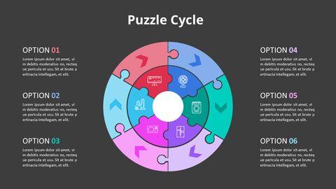 Arrow Circular Process Diagram_14