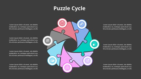 Arrow Circular Process Diagram_15