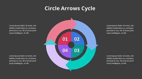 Arrow Circular Process Diagram_16