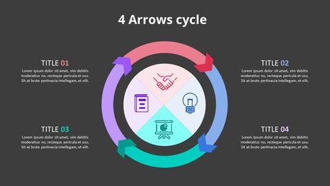 Arrow Circular Process Diagram_17