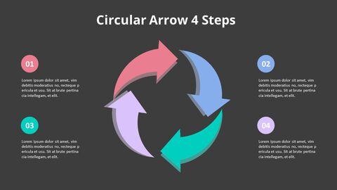 Arrow Circular Process Diagram_21