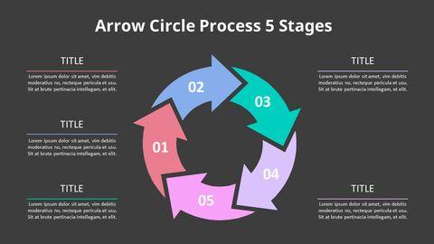 Arrow Circular Process Diagram_22