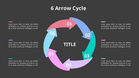 Arrow Circular Process Diagram_23