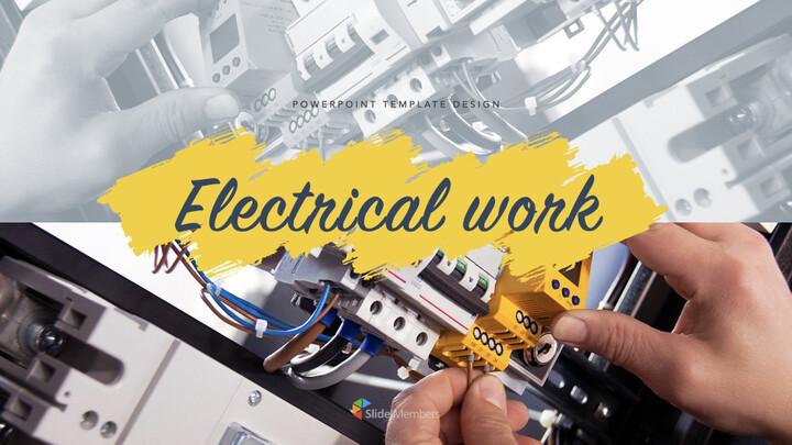 전기 작업 키노트의 PPT_01