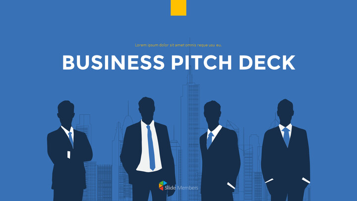 Modern Business Pitch Deck Business Strategy PPT_01