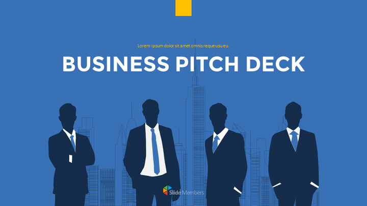 Modern Business Pitch Deck Google Presentation Slides_01