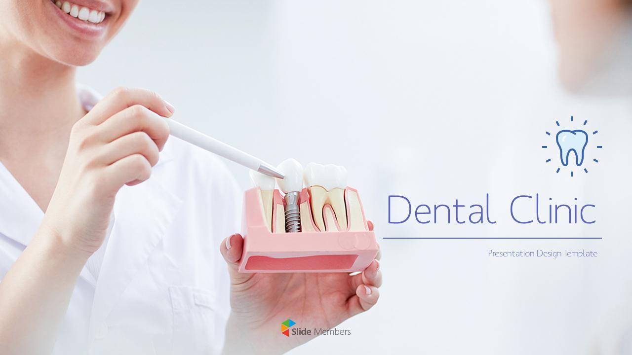 Dental Clinic Simple Powerpoint Templates