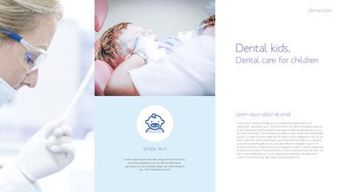 치과 진료소 심플한 파워포인트 템플릿_20