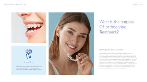 치과 진료소 심플한 파워포인트 템플릿_28
