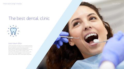 치과 진료소 심플한 파워포인트 템플릿_30