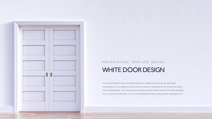 문 디자인 파워포인트 제안서_02
