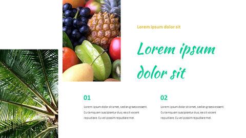 열대 과일 편집이 쉬운 Google 슬라이드_02
