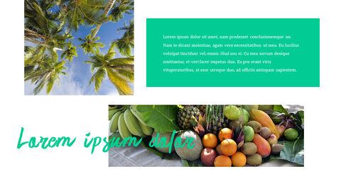 열대 과일 테마 PT 템플릿_06