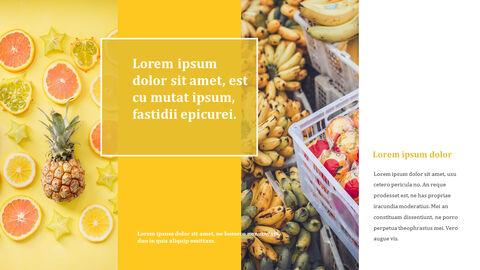 열대 과일 테마 PT 템플릿_10