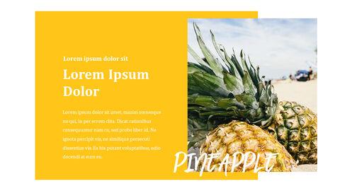 열대 과일 테마 PT 템플릿_16