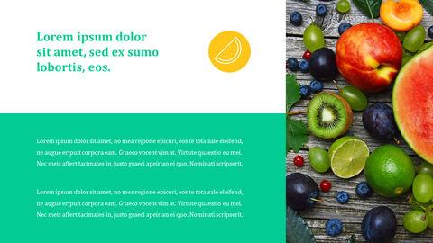 열대 과일 테마 PT 템플릿_21