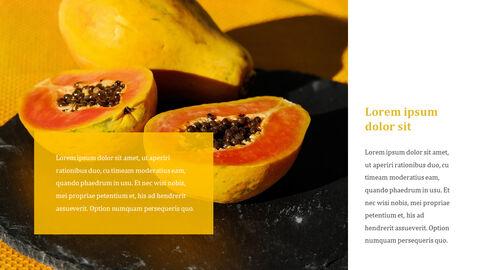 열대 과일 테마 PT 템플릿_23