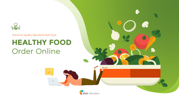 Healthy Food Order Online PPT Backgrounds_01
