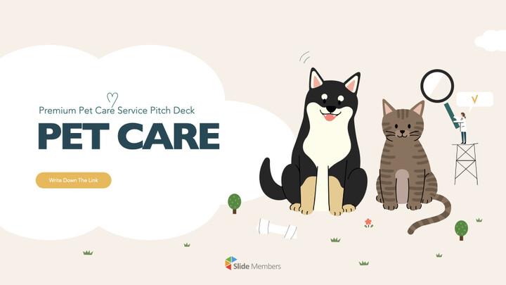 Premium Pet Care Service Keynote to PPTX_01