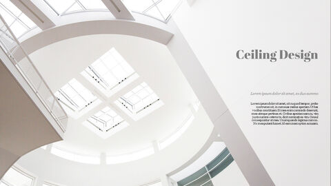 Ceiling Design Best PowerPoint Templates_27
