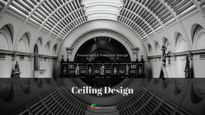 Ceiling Design Simple Google Slides_01