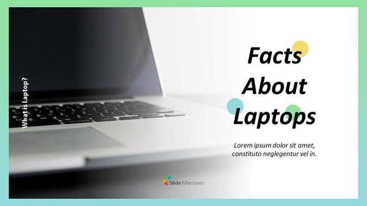 노트북에 대한 사실 맞춤형 구글 슬라이드_01