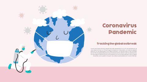 Post-Coronavirus World -  Social Distancing Simple PowerPoint Template Design_05