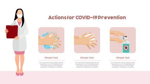 Post-Coronavirus World -  Social Distancing Simple PowerPoint Template Design_06