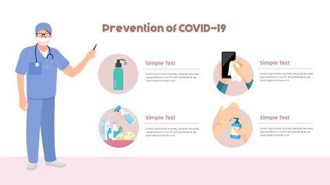 Post-Coronavirus World -  Social Distancing Simple PowerPoint Template Design_09