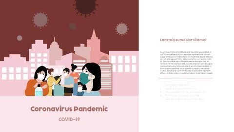 코로나 & 사회적 거리두기 심플한 파워포인트 템플릿 디자인_10