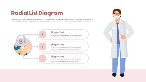 Post-Coronavirus World -  Social Distancing Simple PowerPoint Template Design_11