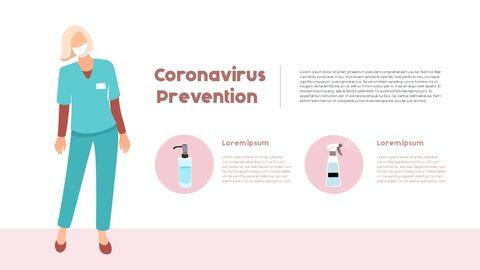 Post-Coronavirus World -  Social Distancing Simple PowerPoint Template Design_22