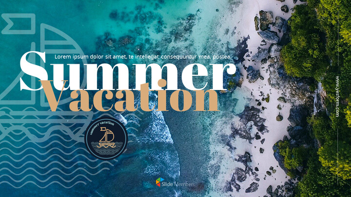 Summer Vacation PPT Model_01