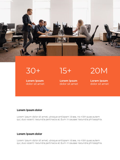 Annual Report Design Layout Google Slides Themes_12