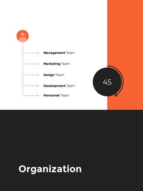 연간 보고서 디자인 레이아웃 파워포인트_10