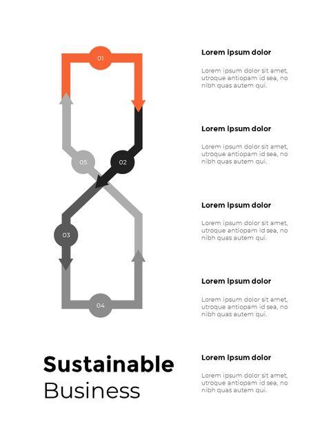 연간 보고서 디자인 레이아웃 파워포인트_19