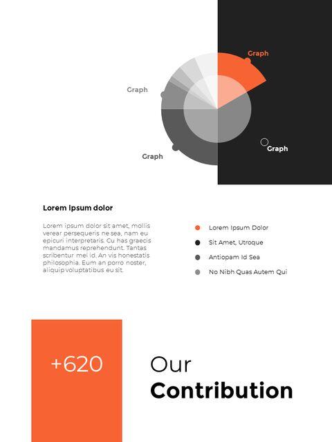 연간 보고서 디자인 레이아웃 파워포인트_31