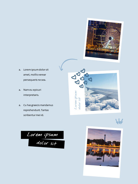 Vertical Theme Travel with you Google Presentation Templates_13