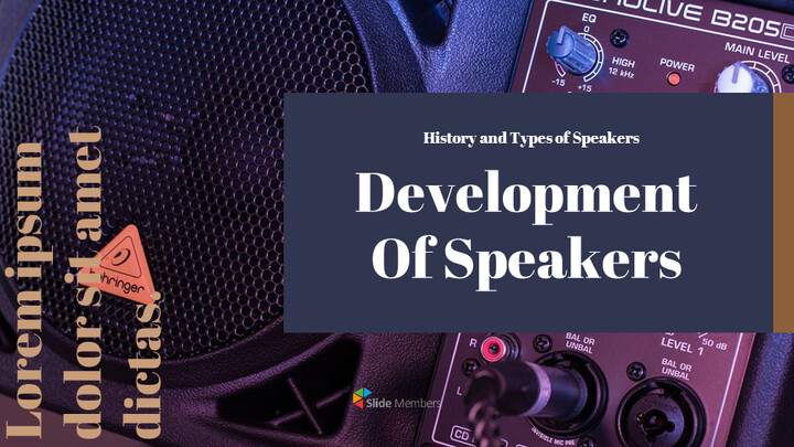 Development of speakers Google Presentation Templates_01