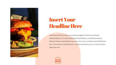 햄버거 창의적인 파워포인트 프레젠테이션_05