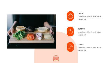 햄버거 창의적인 파워포인트 프레젠테이션_09