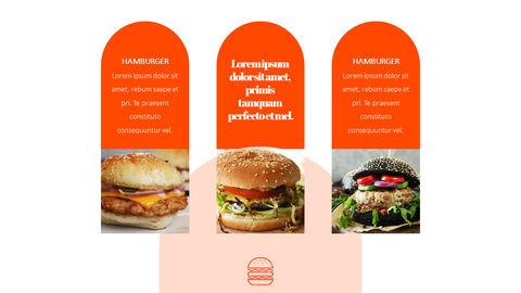 햄버거 창의적인 파워포인트 프레젠테이션_16
