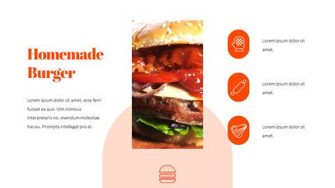 햄버거 창의적인 파워포인트 프레젠테이션_20